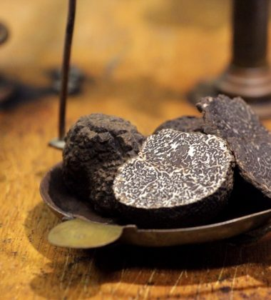 La truffe noire et la fameuse brouillade