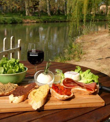 Les restaurants au bord du Canal du Midi