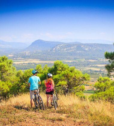 Mountainbiken und Wandern