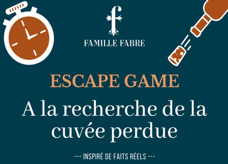 ESCAPE GAME – FAMILLE FABRE CHATEAU DE LUC