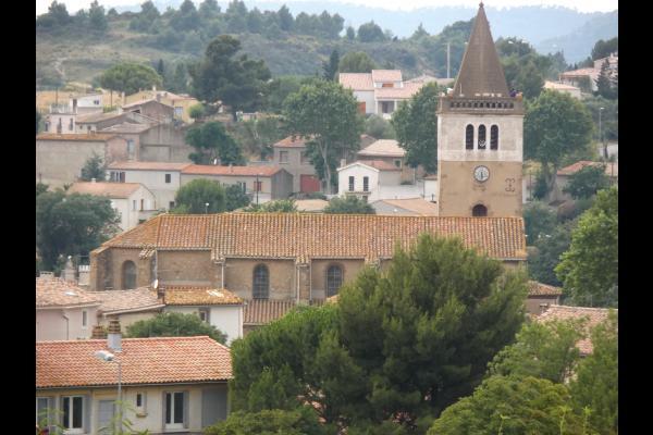 Les S Sens du Sud – Chambre Coquelicot dans village des Corbières