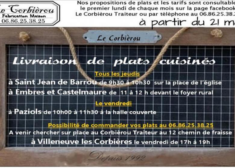 TRAITEUR LE CORBIEROU – LE FOOD TRUCK À EMBRES ET CASTELMAURE